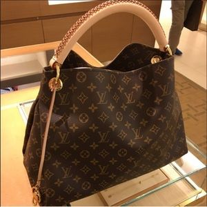 😍like new ARTSY MM old style Louis Vuitton